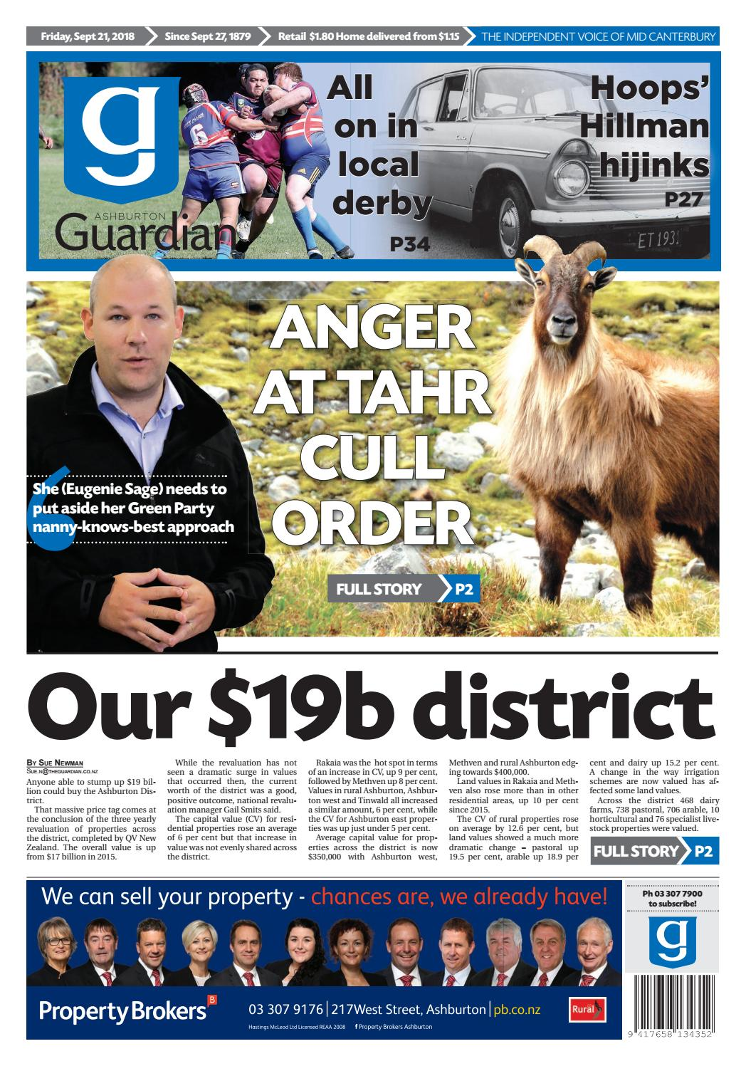 Ashburton Guardian Friday September 21 2018 By Raptor Wiring Harness Nz Issuu