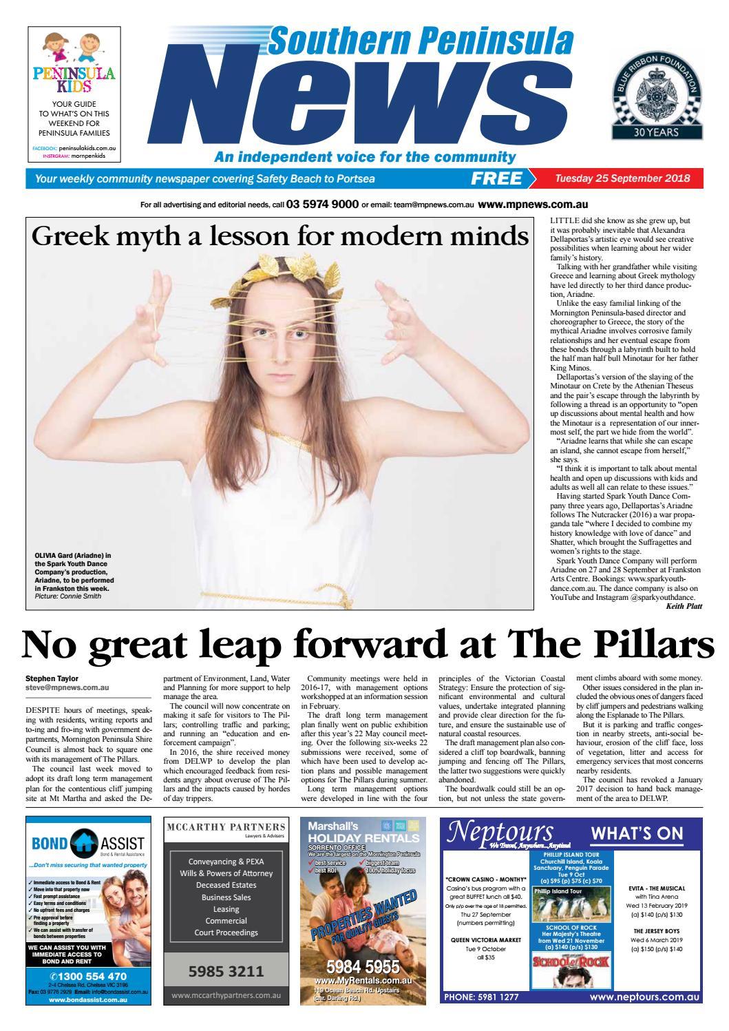 25 September 2018 By Mornington Peninsula News Group Issuu