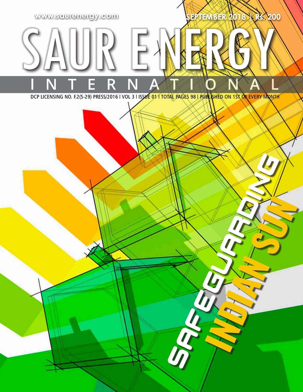 Saur Energy International Magazine 2018 by Saur Energy International