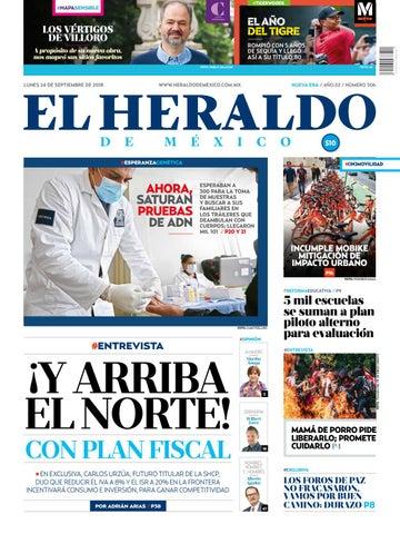 24a94843219 24 de septiembre 2018 by El Heraldo de México - issuu
