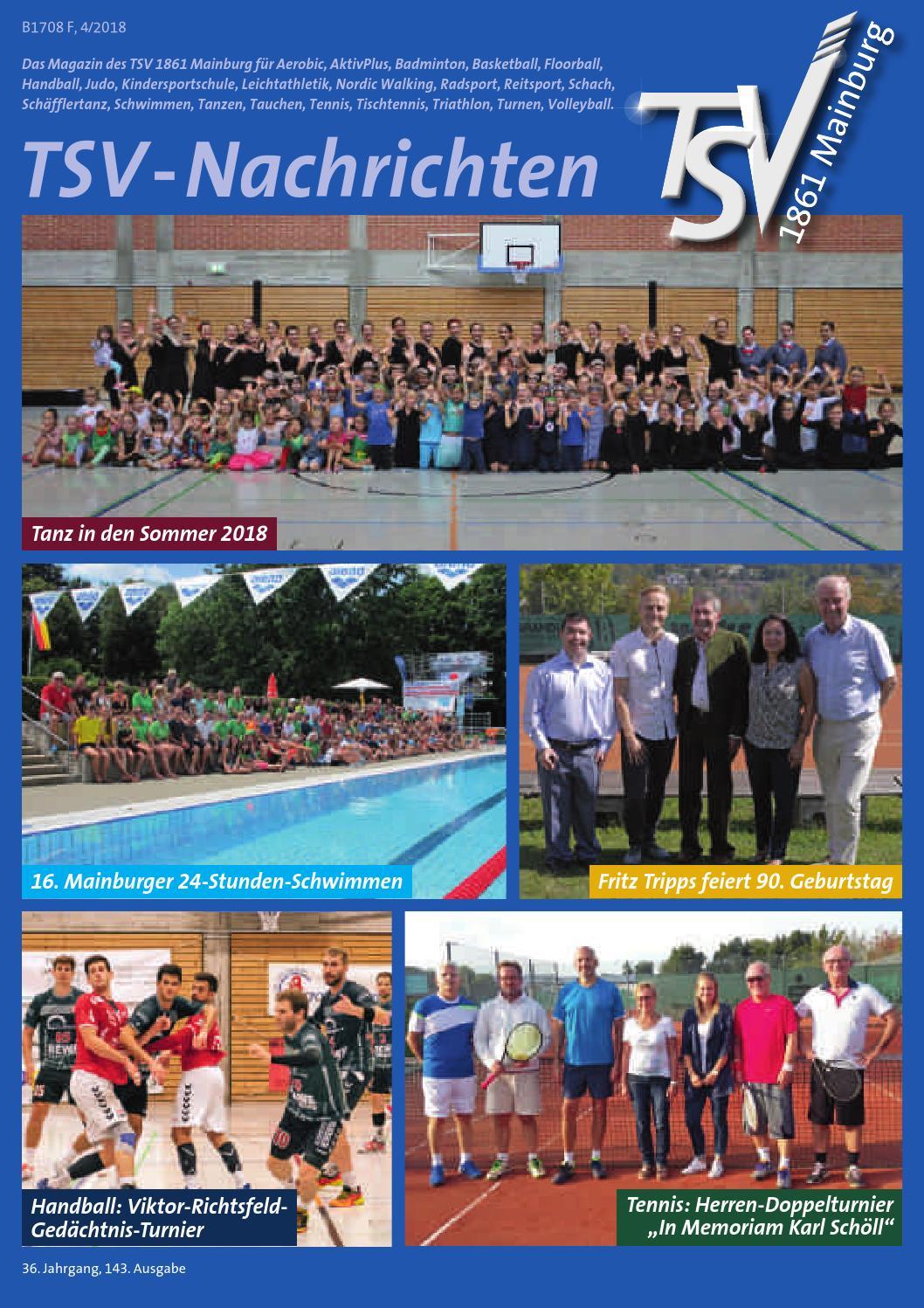 TSV Nachrichten 42018 by tsvmainburg issuu