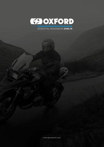 3d6532ddd Oxford Products Essential Riderwear 2019 by Oxford Products - issuu