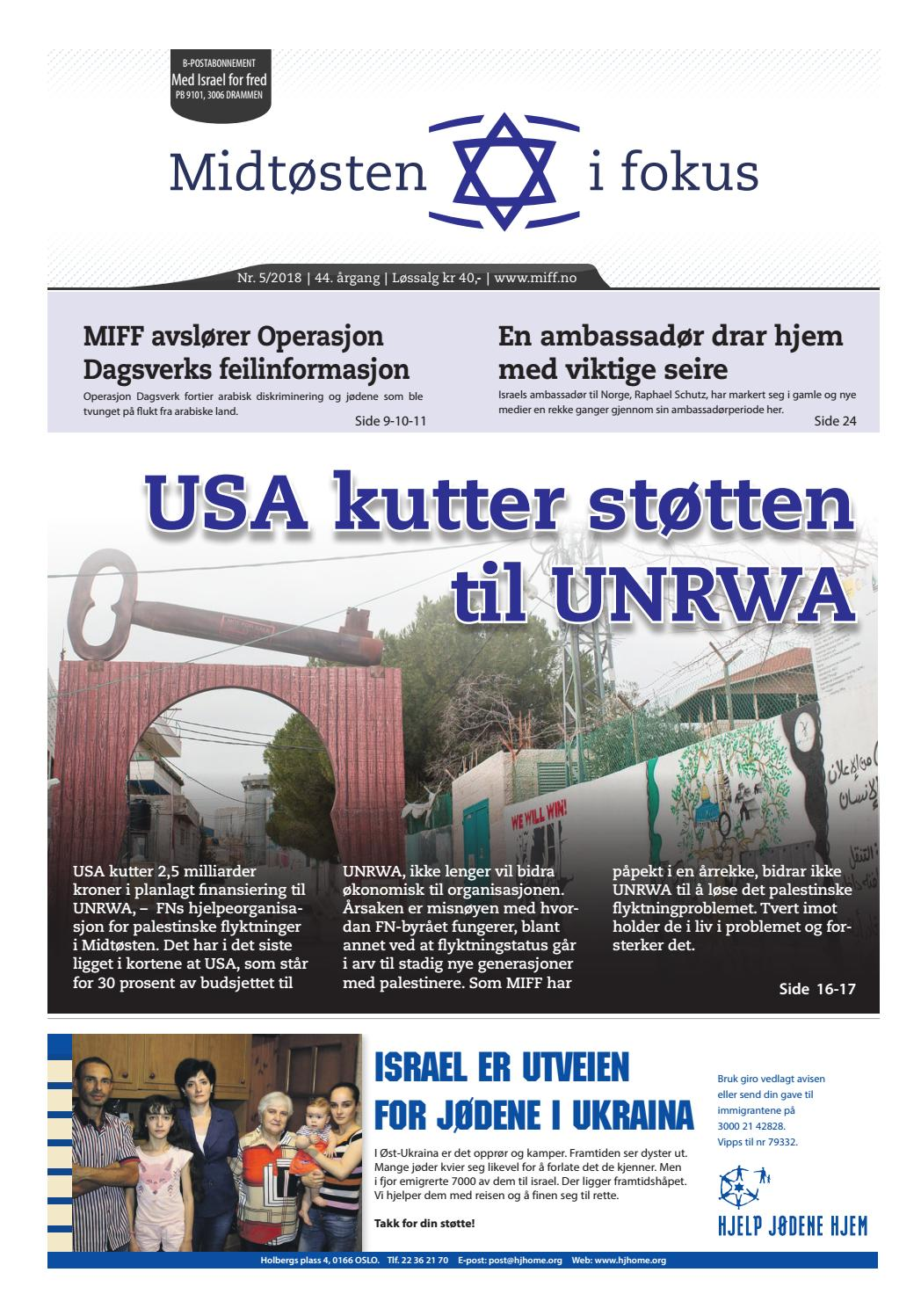 627553cbe 2018-05 Midtøsten i fokus by Med Israel for fred (MIFF) - issuu