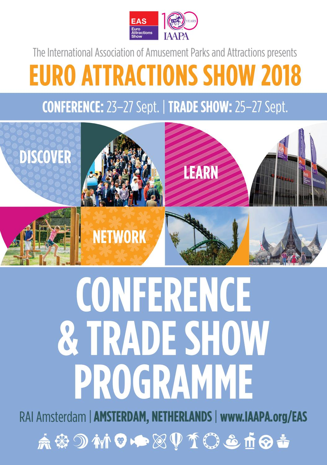 7d416aca2c Euro Attractions Show 2018 - Conference   trade show programme by ...