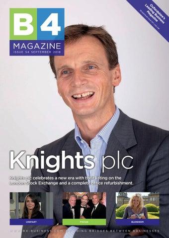 B4 Magazine Issue 54 - Knights Edition by B4 Magazine - issuu