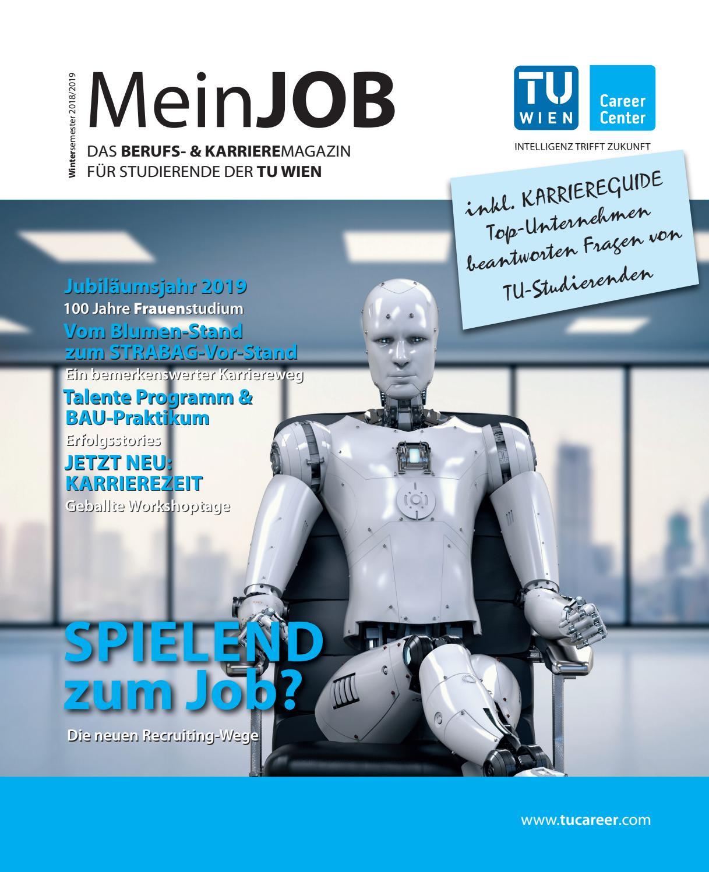 MeinJOB WiSe18/19 - Das Berufs- und Karrieremagazin für Studierende der TU  Wien by TU Career Center GmbH - issuu