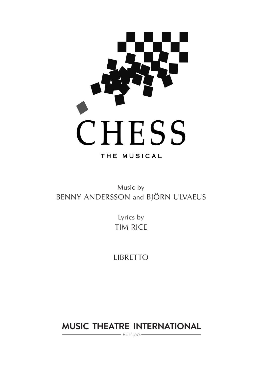 Chess Libretto by mtieurope - issuu