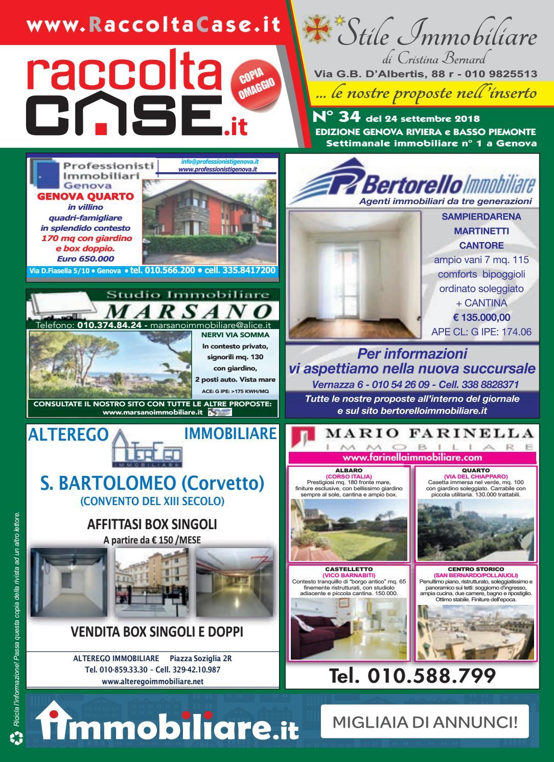 Raccoltacase Genova 34 - 2018 by Publidok S.r.l. - issuu