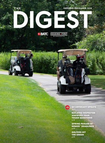 The Digest | October-December 2018 by BATC-Housing First