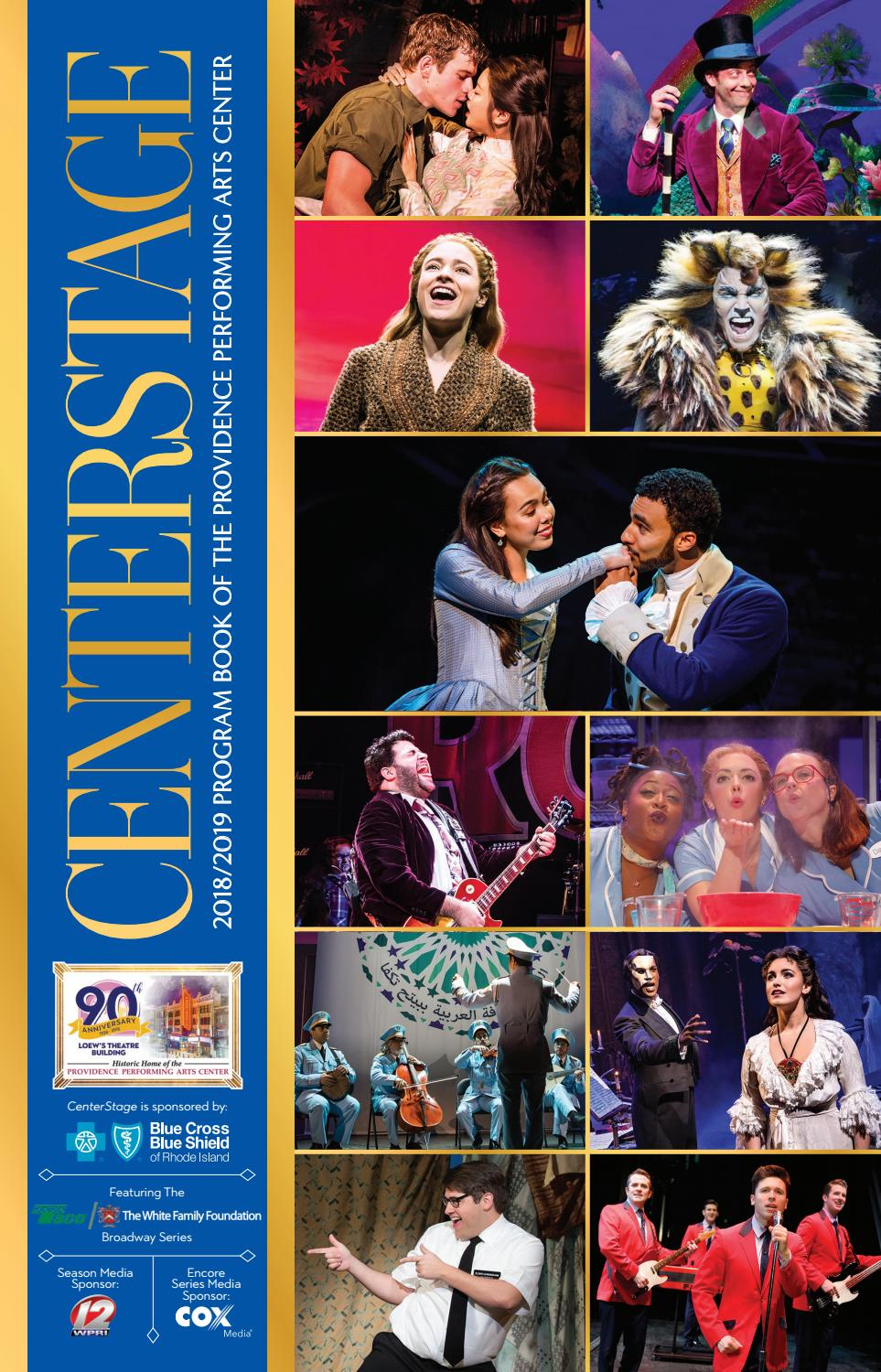 2018 2019 CenterStage by Providence Performing Arts Center - issuu e09734370