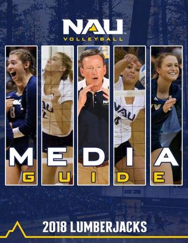 09beff7db 2018 NAU Volleyball Media Guide by NAU Athletics - issuu