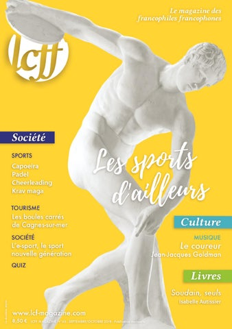 finest selection 59609 6bd48 LCFF MAGAZINE N°65 Les sports d ailleurs by LCFF - issuu