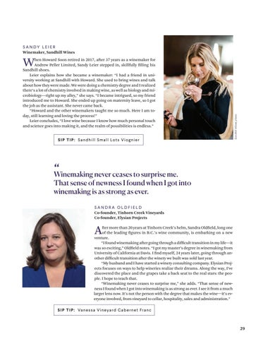 Page 29 of B.C.'s women of wine