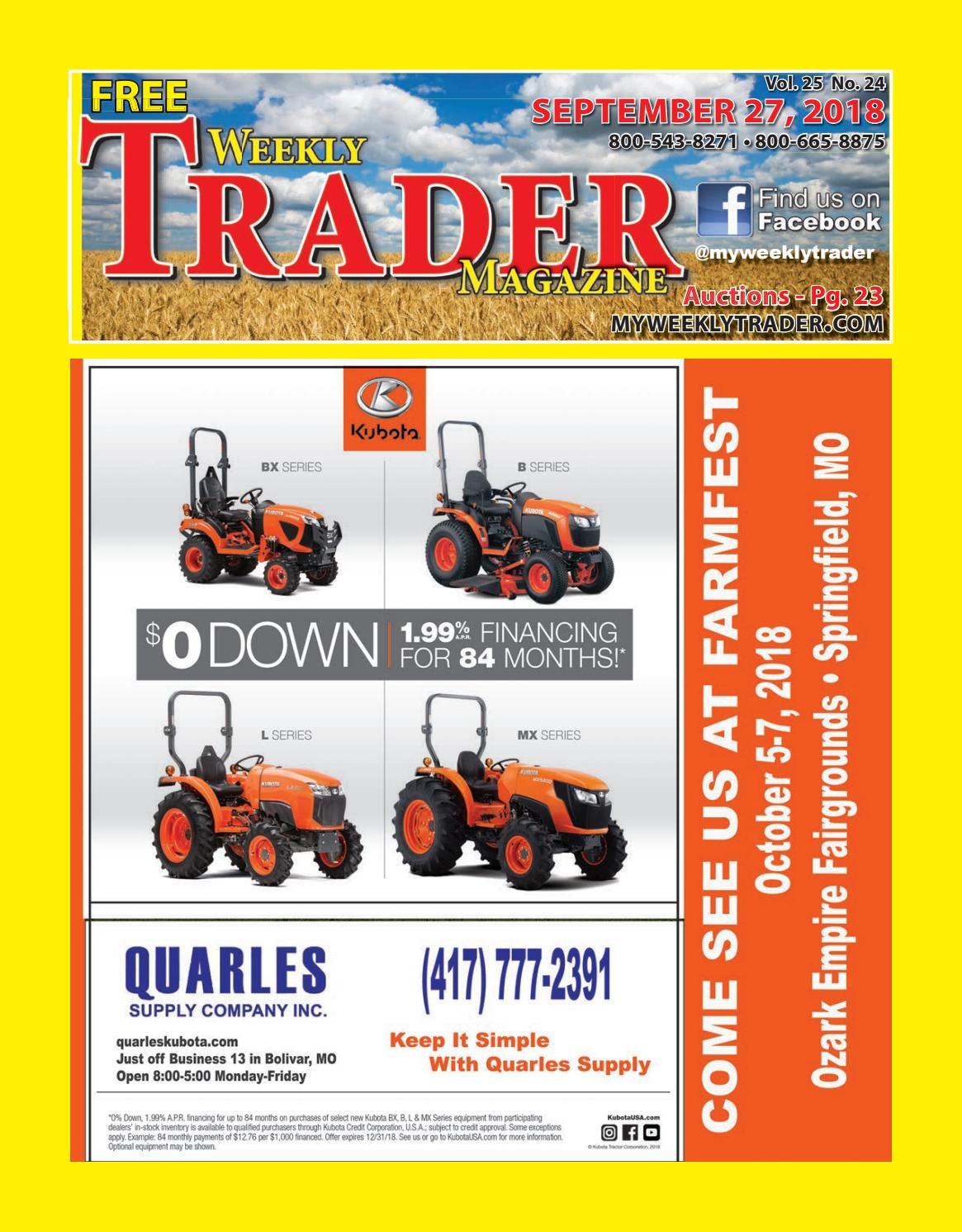 Weekly Trader September 27, 2018 by Weekly Trader - issuu