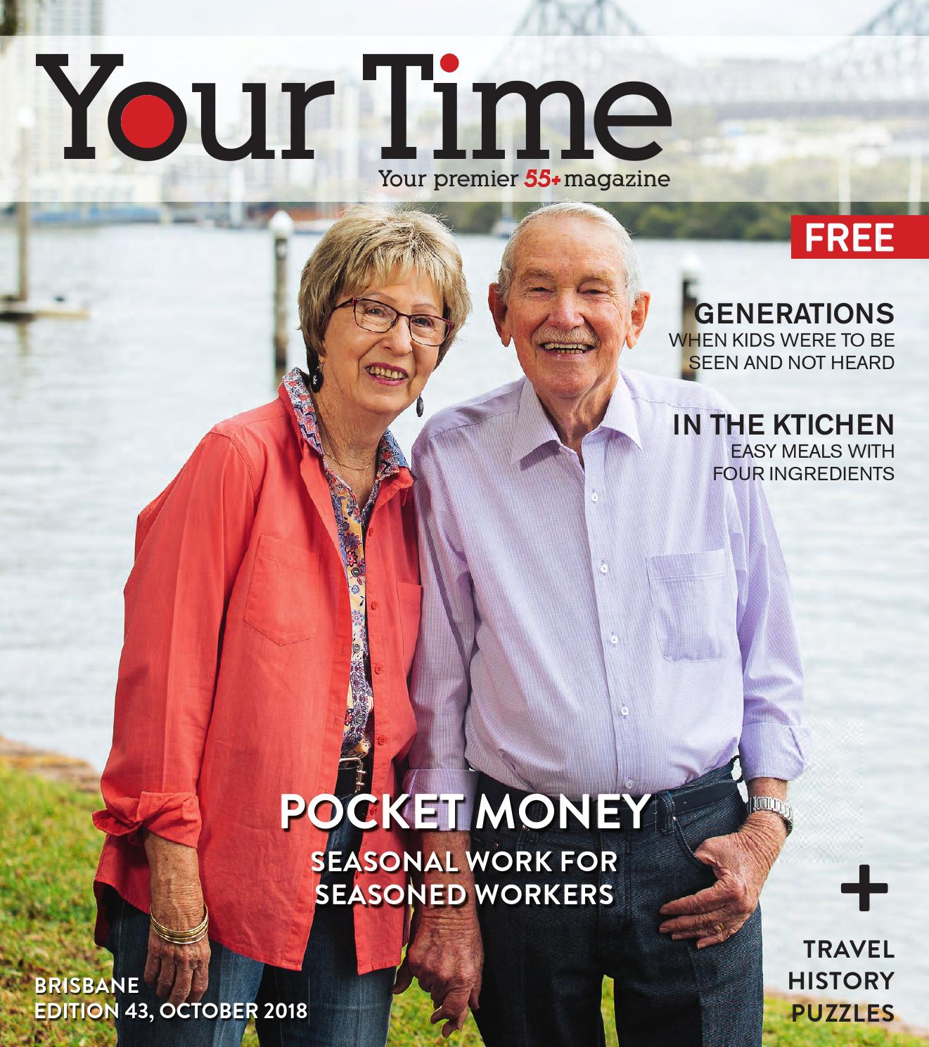 2979a43db11c8 Your Time Magazine Brisbane October 2018 edition by My Weekly Preview -  issuu