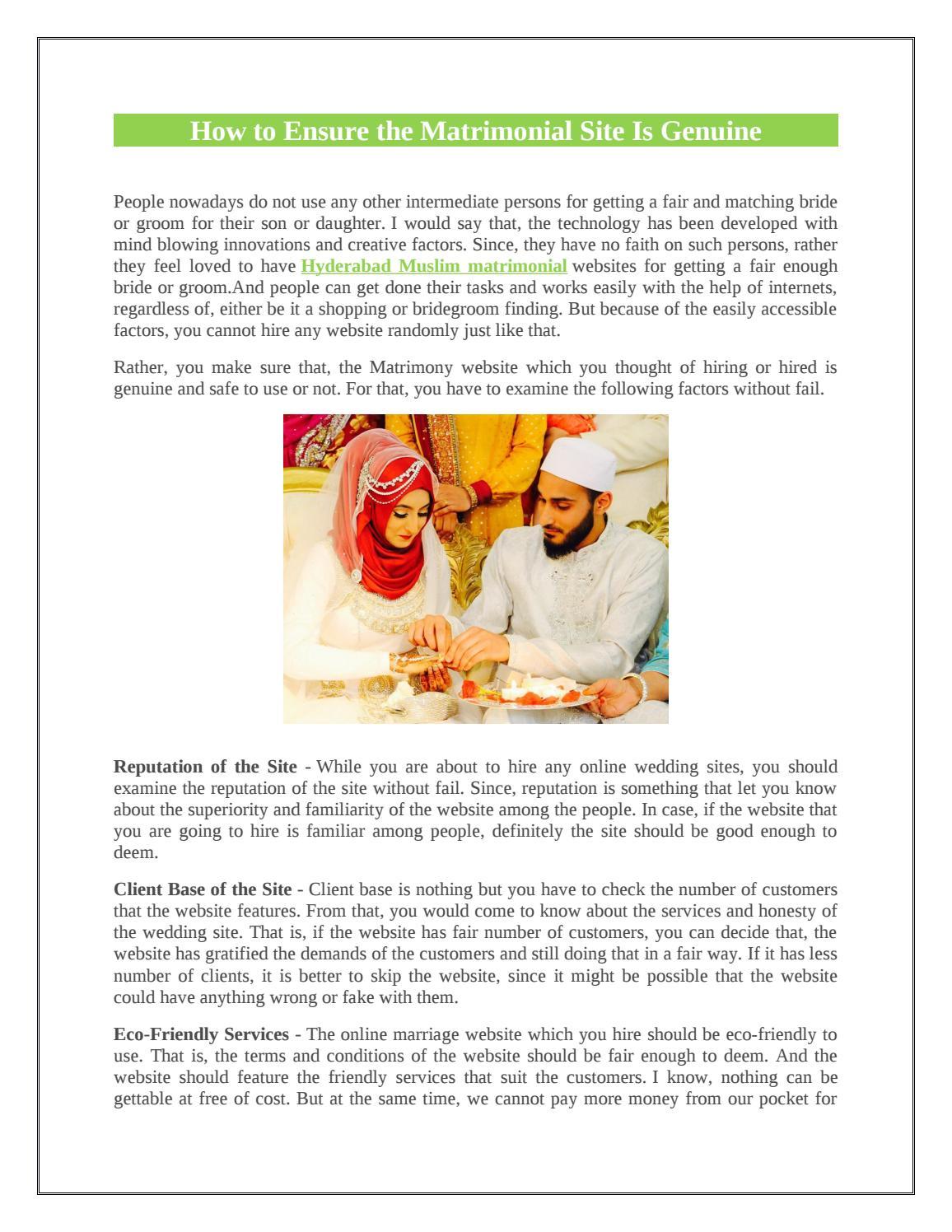 Muslim Matriomonial Hyderabad by Alif Matrimony - issuu