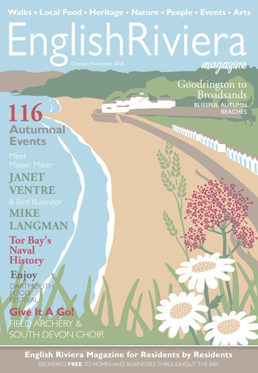English Riviera Magazine October 2018 Online Edition by English