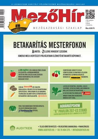 Mezőhír 2017. Január by Horizont Média Kft. - issuu 95a1145263