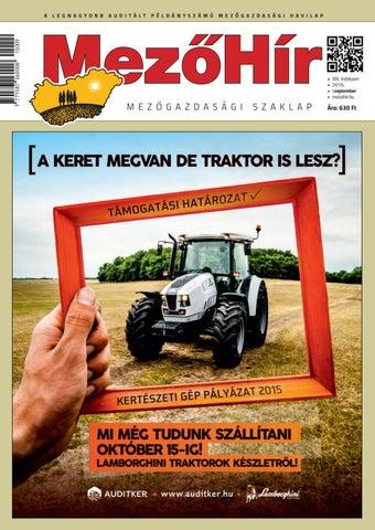 c023cf466720 Mezőhír 2015. Szeptember by Horizont Média Kft. - issuu