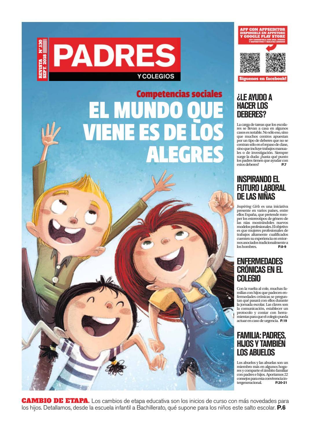 130 Y Septiembre 2018 Nº Padres Colegios tdxCBhsQr