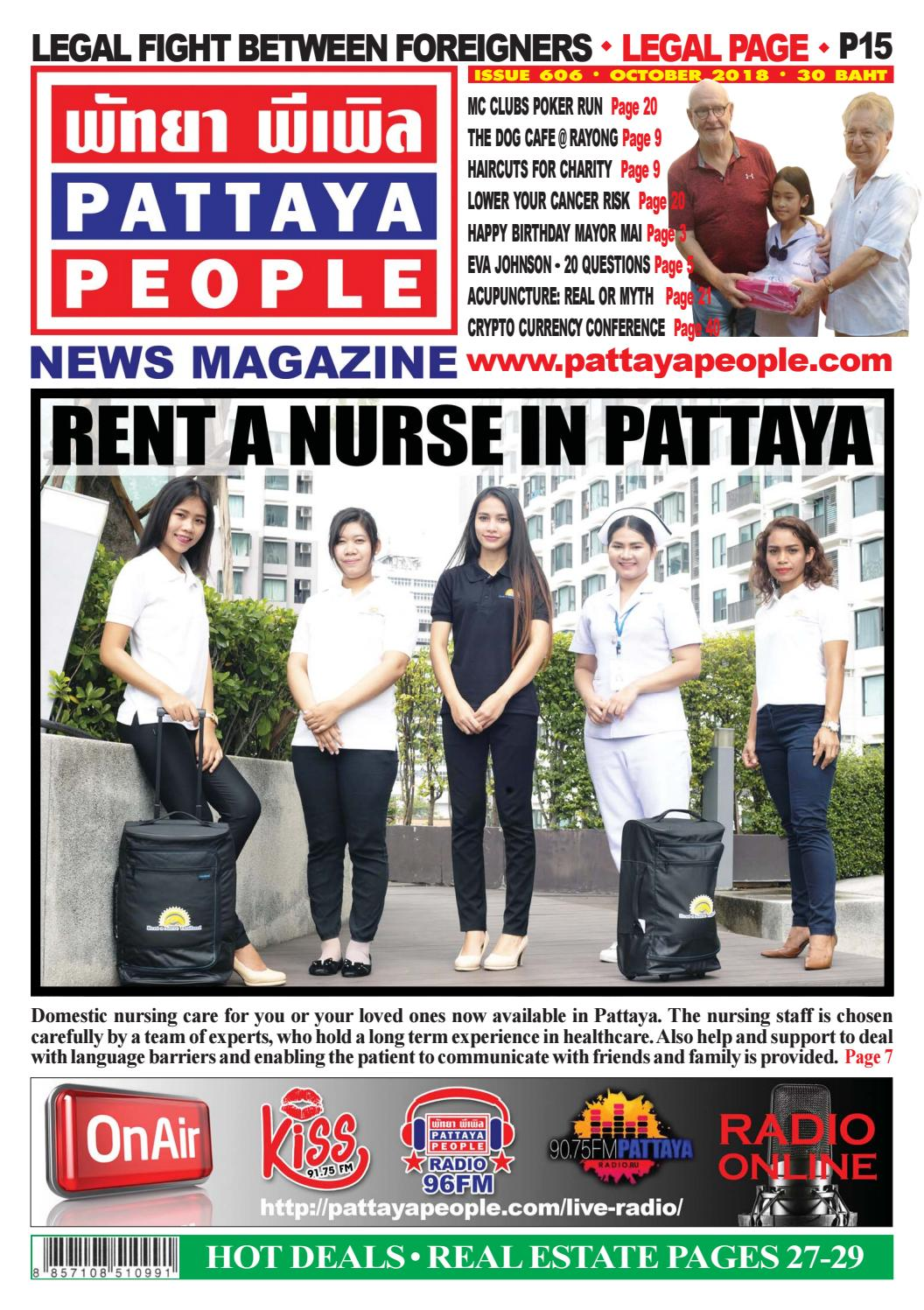 Pattaya People News Magazine 606 by PATTAYA PEOPLE NEWS MAGAZINE - issuu