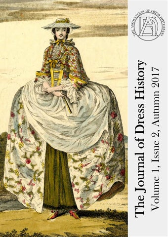 The Journal Of Dress History Volume 1 Issue 2 Autumn 2017 By The Journal Of Dress History Issuu