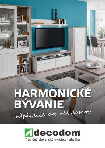 ad9c469caba08 Harmonické bývanie by Decodom - Slovenský výrobca nábytku - issuu