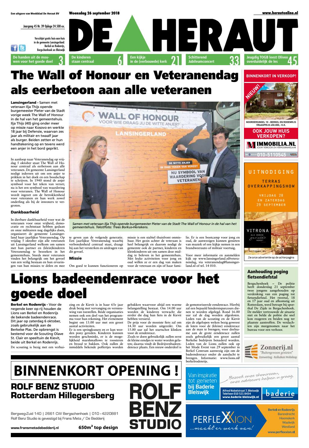 737b1d7a1ca De Heraut week 39 2018 by Nieuwsblad De Heraut - issuu