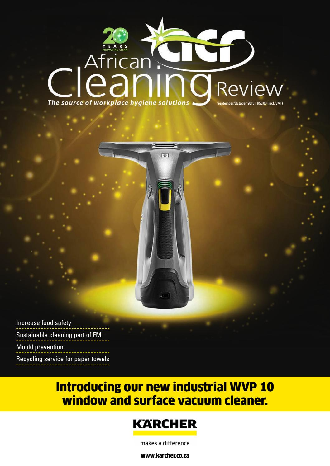 African Cleaning Review SeptOct'18 issue by African Cleaning