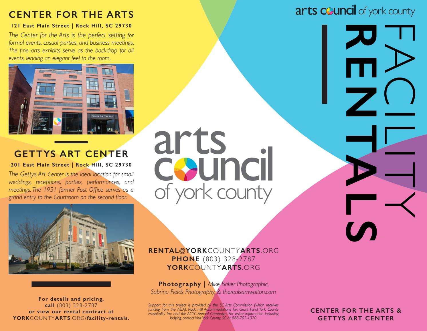 Peachy Arts Council Of York County Facility Rental Brochure By Arts Short Links Chair Design For Home Short Linksinfo