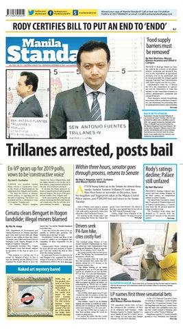 Manila Standard - 2018 September 26 - Wednesday by Manila Standard