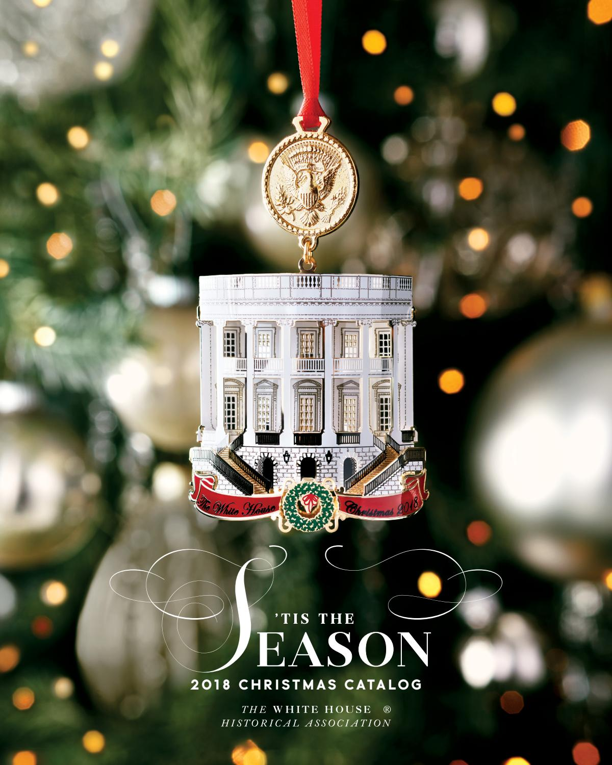 The White House Christmas Ornament 2008 Benjamin Harrison With Box /& Insert New