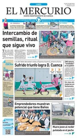 7707df211675 hemeroteca-24-09-2018 by Diario El Mercurio Cuenca - issuu