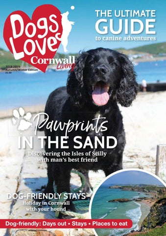 Dogs Love Cornwall Living Autumn/Winter Edition by Engine House