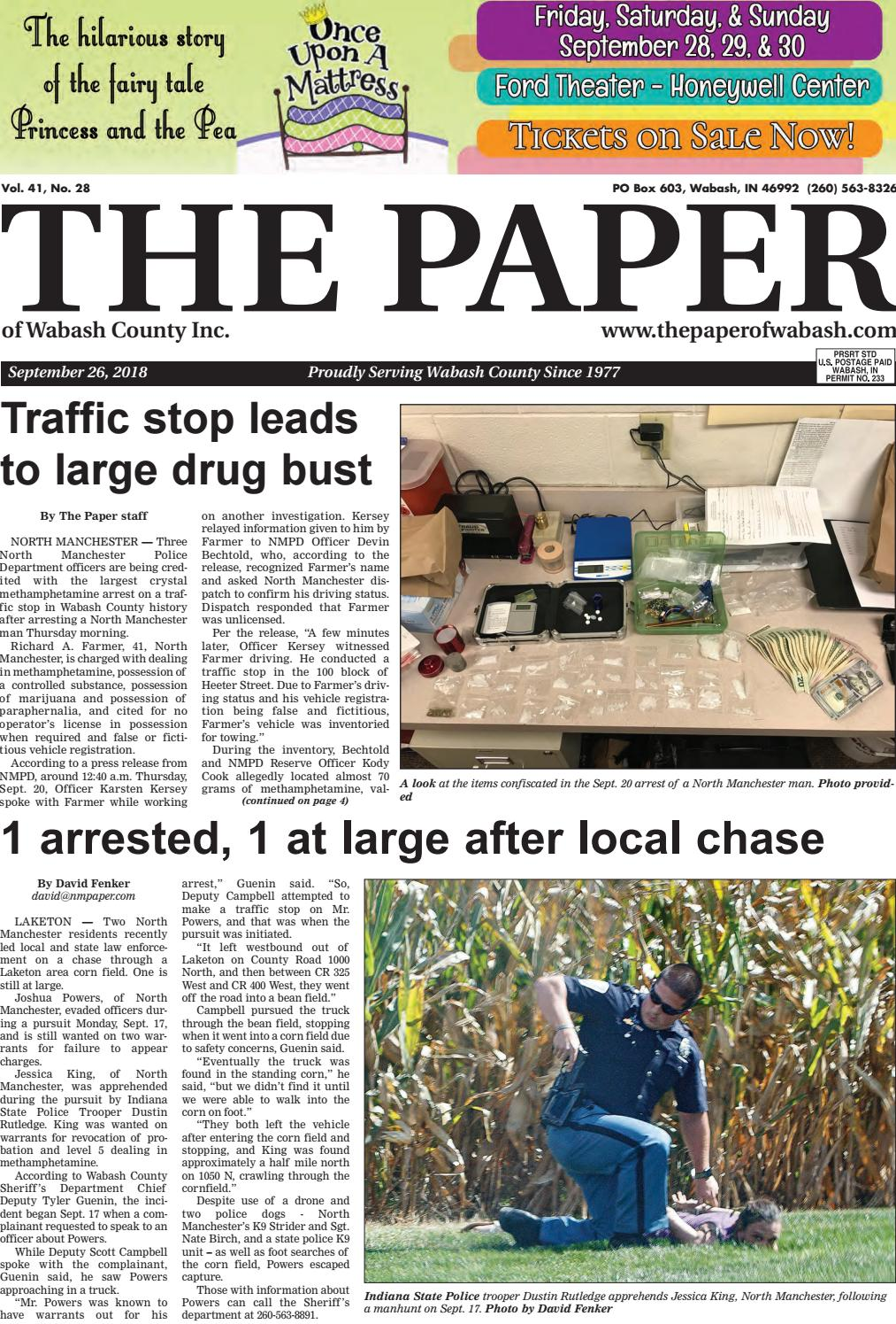 The Paper of Wabash County - Sept  26, 2018 by The Paper of