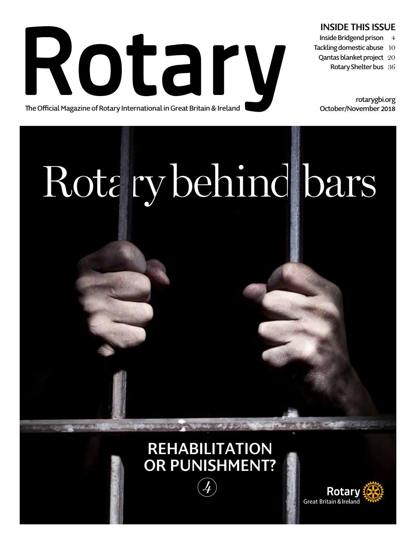Rotary Magazine October-November 2018 by Rotary