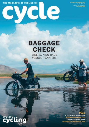9479ce08d94 Cycle Magazine Taster October/November 2018 by Cycling UK, the ...