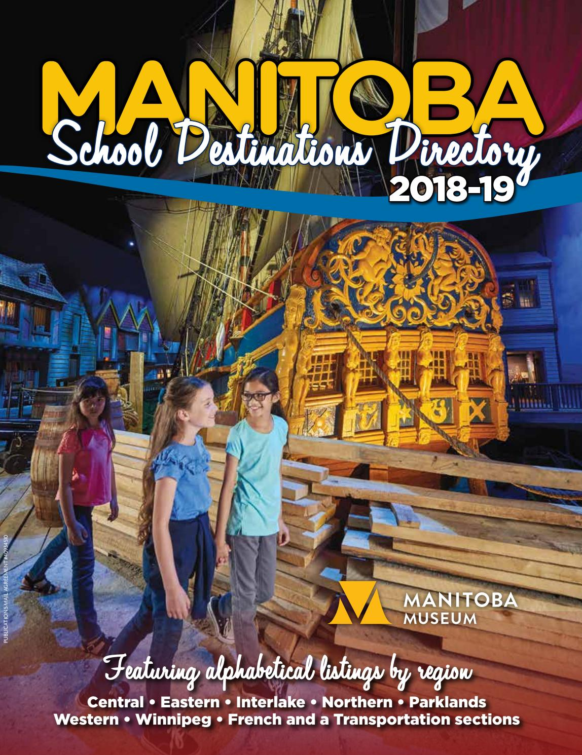 Manitoba School Destinations 2018-19 by DEL Communications