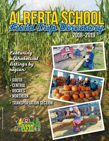 Alberta School Field Trip Destinations 2018-19 by DEL Communications