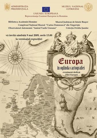 Europa In Oglinda Cartografiei By Ovidiusandor Issuu
