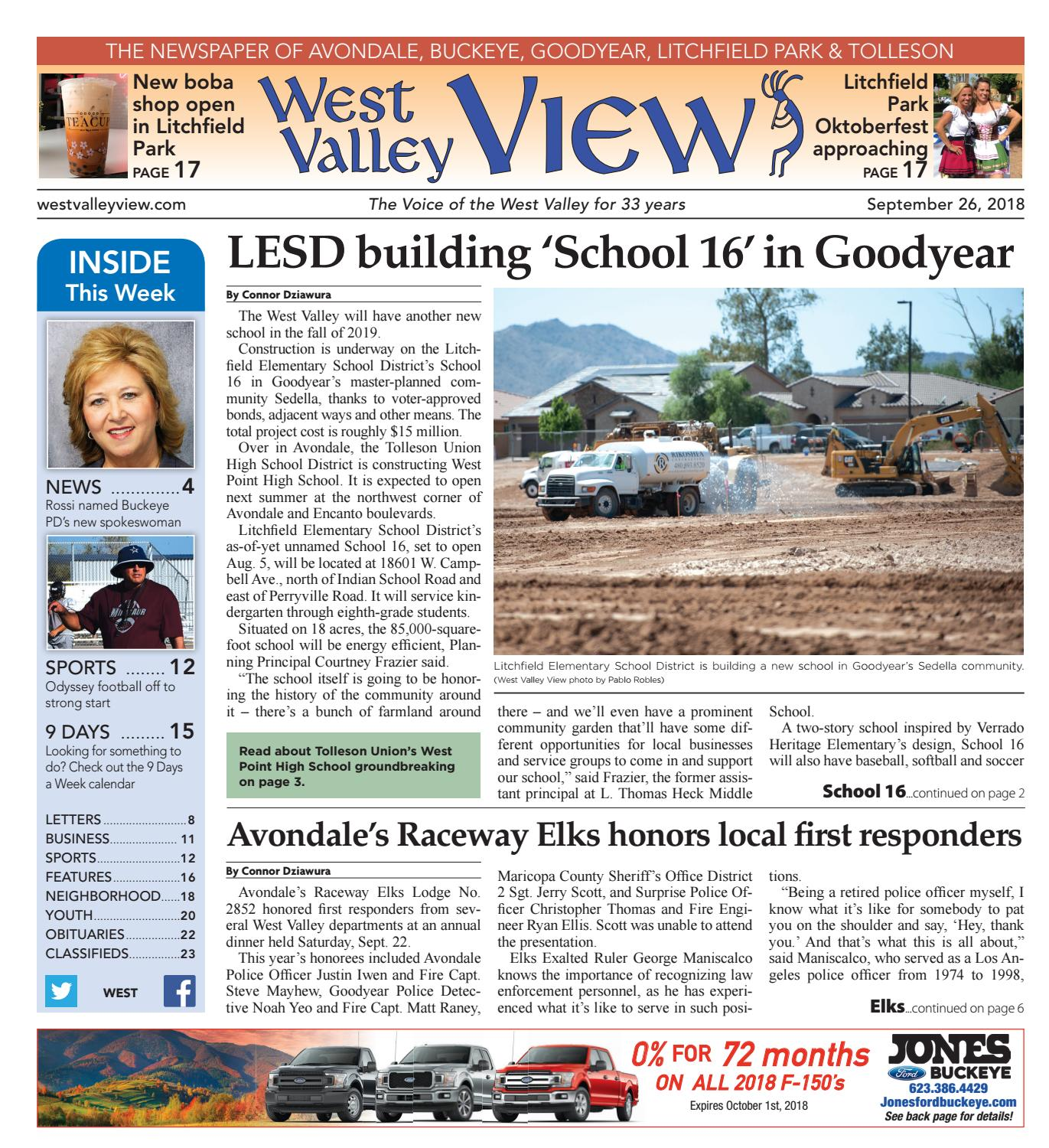 West Valley View West September 26 2018 by Times Media Group issuu