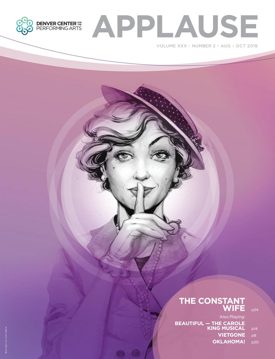 Applause Magazine, September 21-October 21, 2018 by The