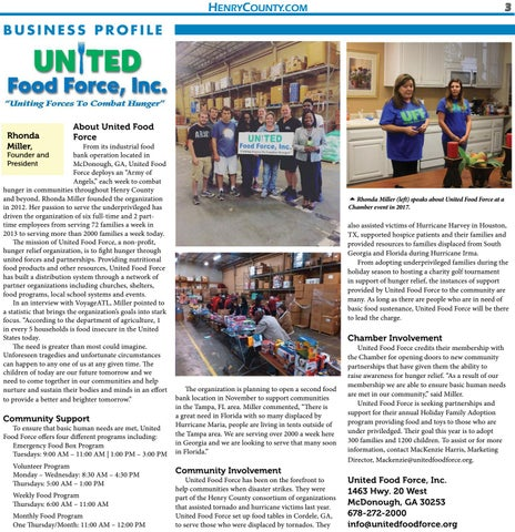 Page 3 of United Food Force, Inc