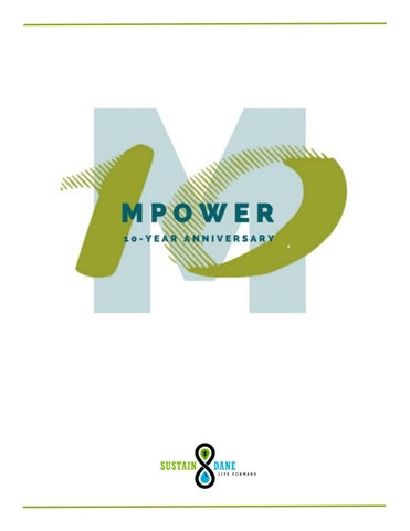 M Is For Mpowering Madison >> Mpower 10 Year Anniversary Booklet By Sustain Dane Issuu