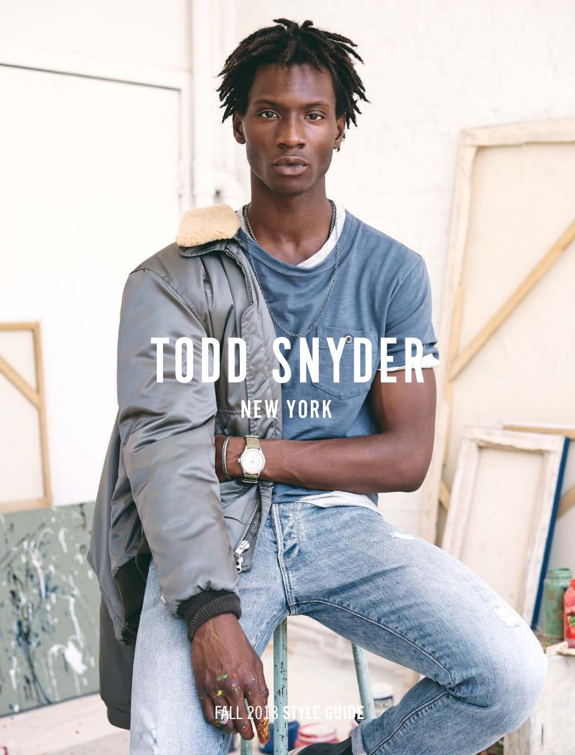 dcb1a426c0604 Todd Snyder Fall 2018 Catalog by Todd Snyder - issuu