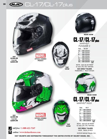 82344d58 2018 Helmet House Fall Catalog Supplement by Helmet House Inc. - issuu