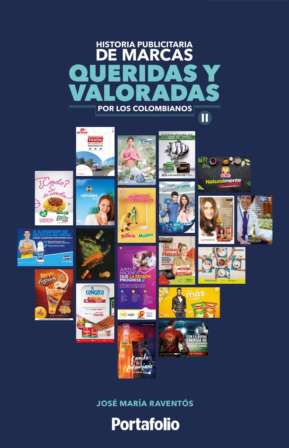 Historia publicitaria de marcas queridas y valoradas por los colombianos  Vol 2 by JMR Comunicaciones - issuu 2b1a0643fb5