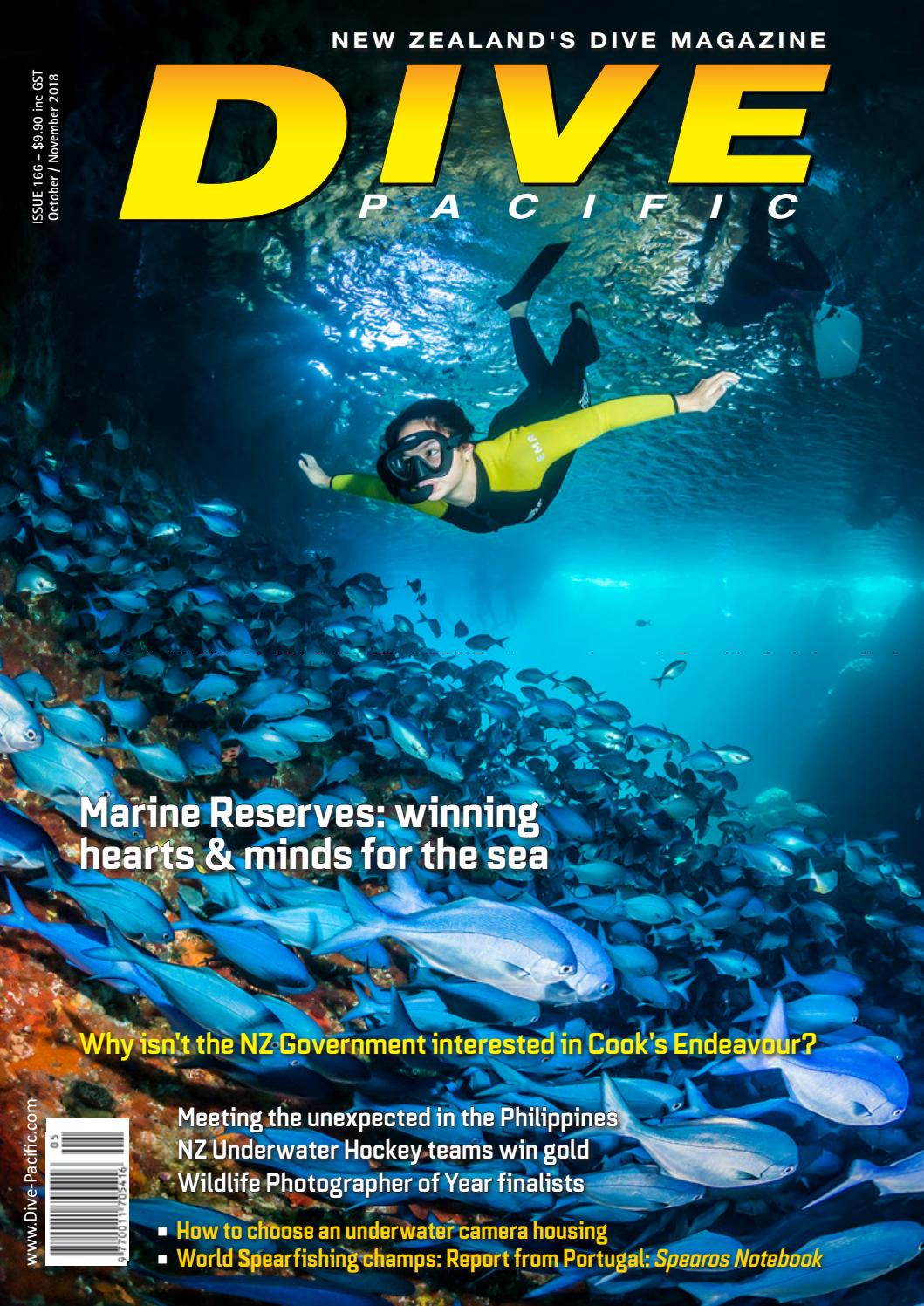 Dive Pacific Oct Nov 2018 Issue 166 by Dive Publishing - issuu