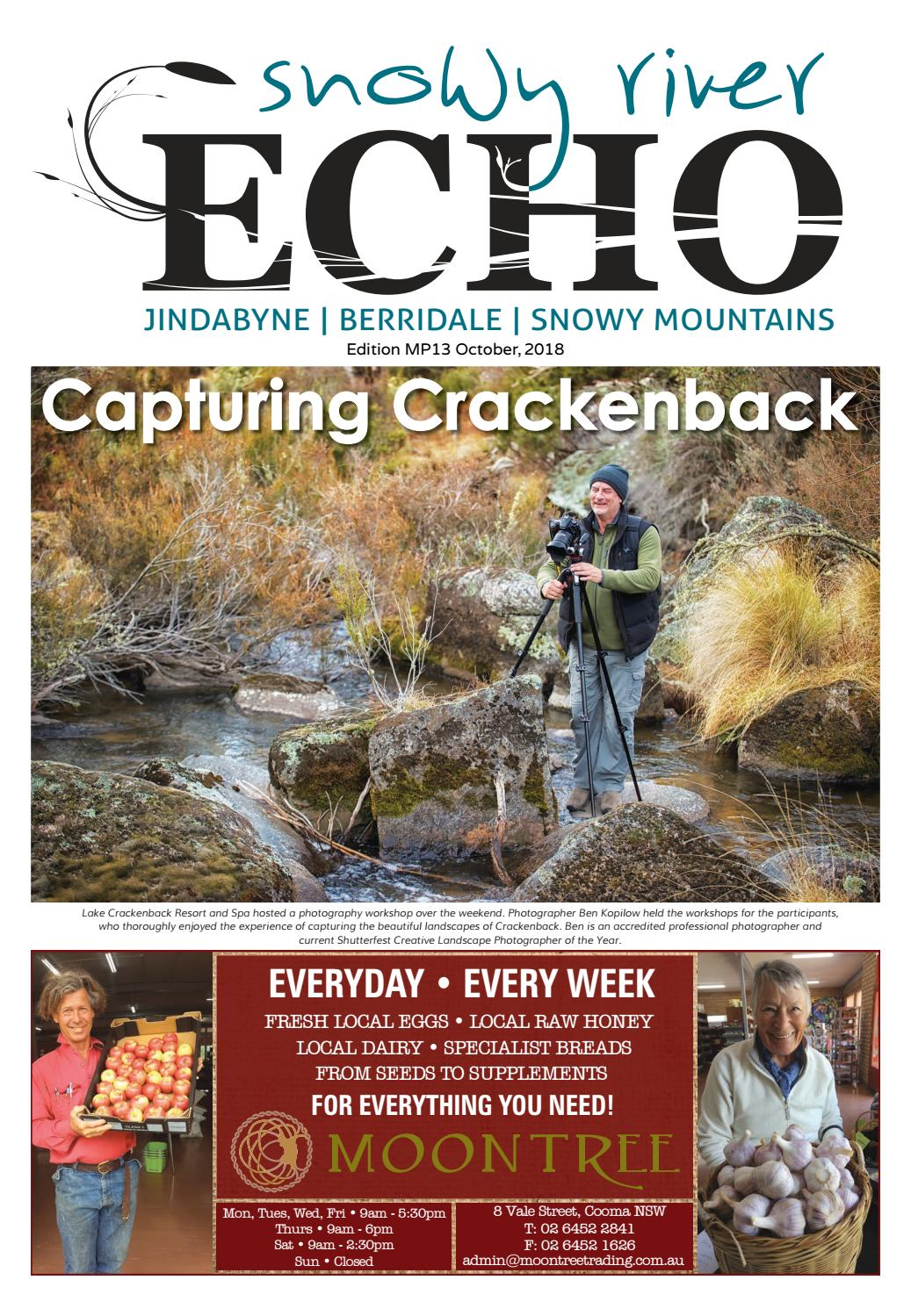 The Snowy River ECHO October 2018 Edition by Monaro Post - issuu
