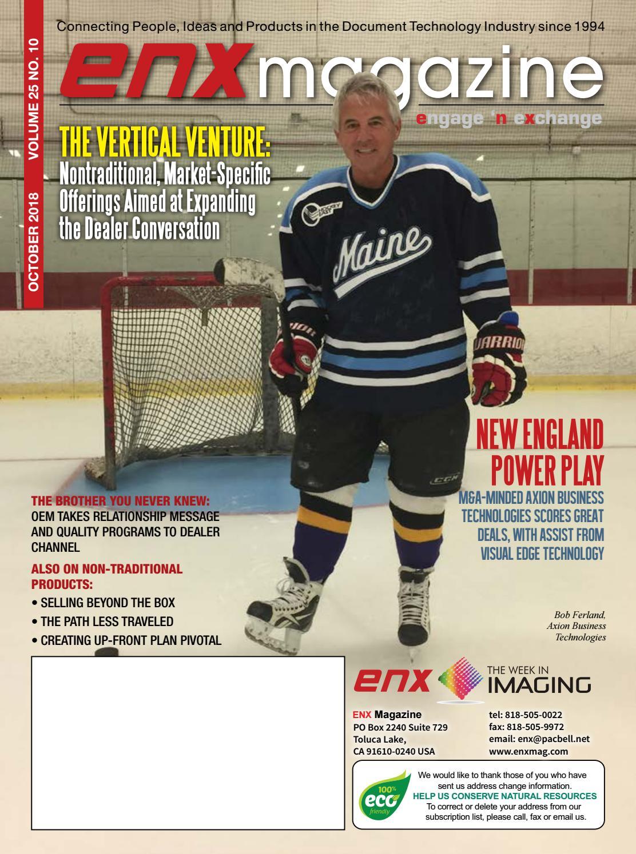 ENX Magazine October 2018 Issue by ENX Magazine - issuu